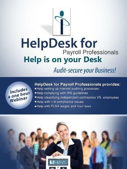 Hel;pDesk for Payroll Professionals